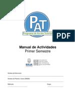 Manual de Actividades 1 semestre