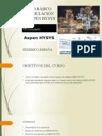 CURSO BÁSICO DE SIMULACIÓN EN ASPEN HYSYS