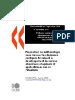 METHODOLOGIE POUR MESURER LES DEPENSES PUBLIQUES