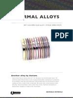 Normal Alloys Brochure