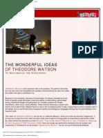 Digimag 35 - June 2008. The wonderful ideas of Theodore Watson