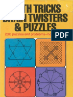 Math Tricks, Brain Twisters and Puzzles by Joseph Degrazia PDF Tam