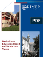 World-Class Education Based on World-Class Values