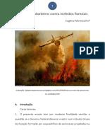 Força de Bombardeiros Contra Incêndios Florestais