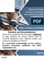 Object Oriented Analysis-Online Lecture Series-4