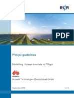 Huawei - PVsyst guidelines -v 1.2