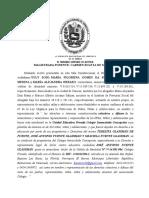 SENTENCIA - ACCION DE AMPARO - AGOSTO 2020