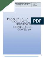 Plan vigilancia COVID-19 Version 2