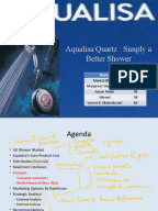 marketing case study ii aqualisa quartz Free essay: hbs case: aqualisa quartz – simply a better shower 1   the conventional shower can no longer satisigy the market demand,  list ii  on average, plumbers do 40 to 50 a year (generally 2-day job),.