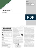 Denon DVP-602CI video process