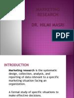 Week 9- Marketing research