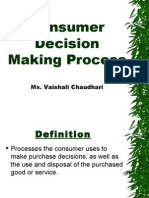 CB 2.1 consumer decision making short