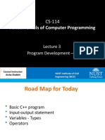Lec 03 - Program Development - II