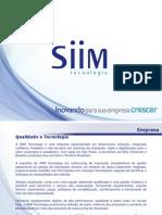 Apresentação SIIM Tecnologia Ltda