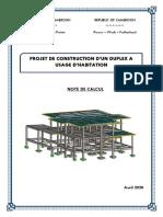 Dossier complet calcul de structure d'un R+1.pdf