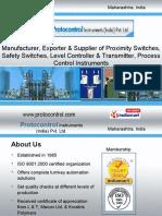 Proximity & Safety Switches Maharashtra India