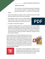 Características de multinacionales-modalidades de NI