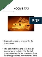 INCOME TAX-1st module