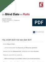 Blind Date mit Rails - Rails-Einführung