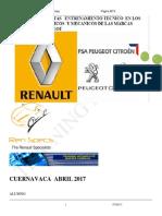 CURSE RENAUL PEGEOUT 2017