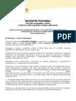 c.s. Incontri Possibili Ludovico Bessegato