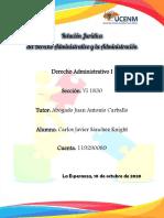 Relación Jurídica del D Administrativo - Carlos Sánchez