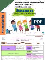 1°, 2° y 3° Secundaria en EF Semana 13-LEF Antonio Preza