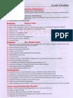 Checklist_Credit