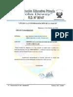 12 _ Noviembre _ Oficio Nº 010 _ Acta de Subsanación