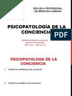 PSICOPATOLOGÍA DE LA CONCIENCIA.pptx