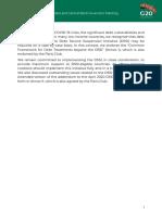 Acuerdo del G20 por la pandemia