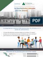 Informe Escasez de Oportunidades Laborales Para Los Jóvenes