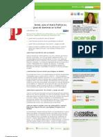 """Respondemos, para el diario Publico.es, al """"bloqueo de dominios en la Red"""""""