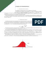 Tabla de distribución normal