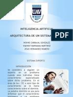 Arquitectura de un Sistema Experto I.A.