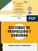 SISTEMAS DE PROPULSIÓN Y GOBIERNO