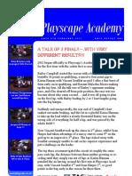 Academy Report Round 1
