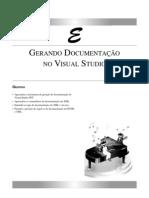GERANDO DOCUMENTAÇÃO