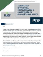 A legislação educacional contemporânea a Constituição e a educação como direito.pdf