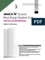 Multi V Installation Manual