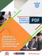 Recojo y Analisis de Evidencias de Aprendizaje I Ccesa007