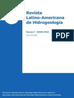 Revista Hidrogeologia 2010