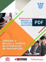 Recojo y Analisis de Evidencias de Aprendizaje II Ccesa007