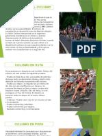 Ciclismo presentacion en pdf