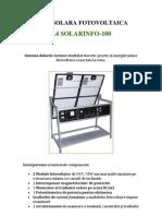 Energie Solara Fotovoltaica Fisa Solar Info 100 Ro