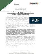 27-10-20 Convoca Gobernadora a Consejo Estatal de Salud a establecer protocolos ante repunte de casos por COVID-19 en Sonora