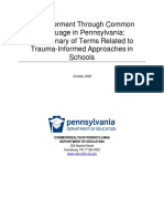 empowerment through common langauge in pa  a dictionary of terms related to trauma informed approaches in schools  002