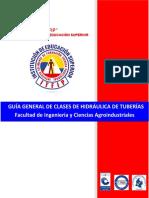 GUÍA GENERAL DE CLASES H.T. GUÍA No 03 CÁLCULO DE PÉRDIDAS EN TUBERÍAS