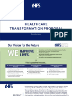 HFS Healthcare Transformation Proposal