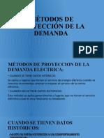MÉTODOS DE PROYECCIÓN DE LA DEMANDA
